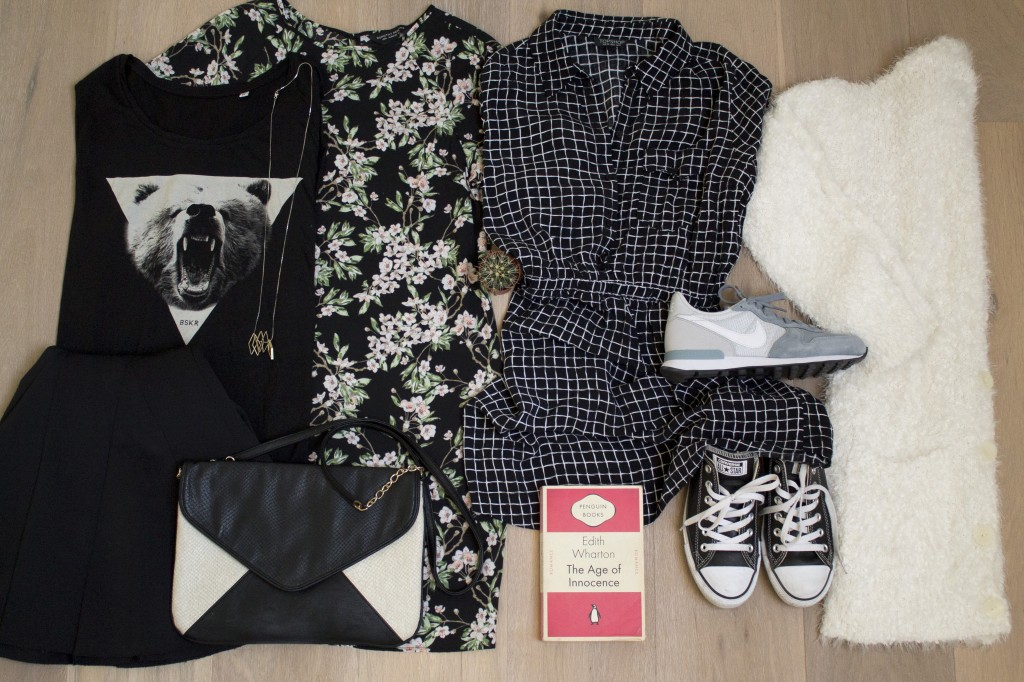 packed outfit