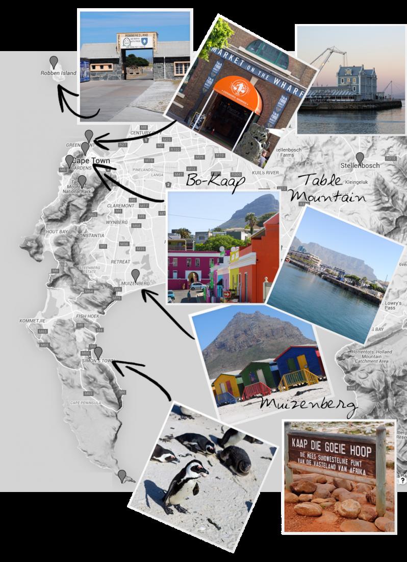 Cape Town Route